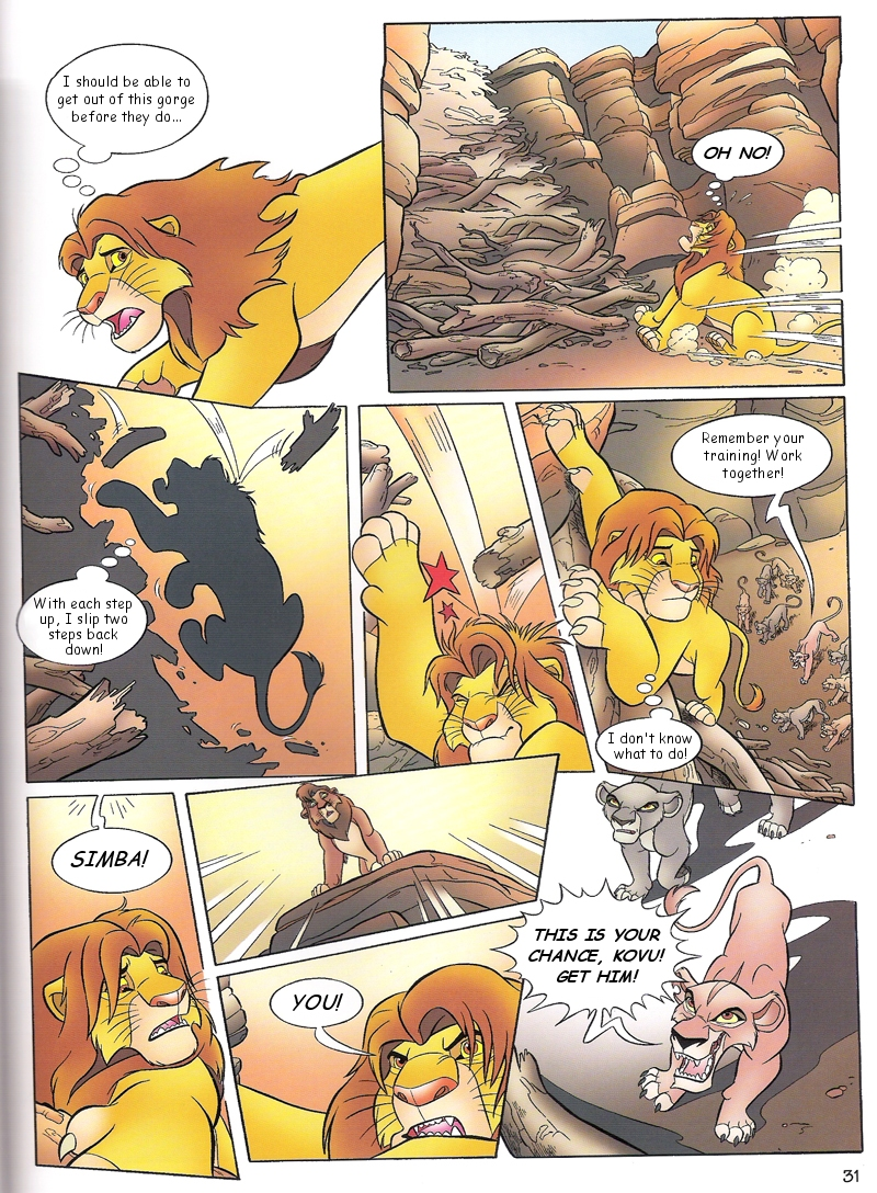 Lion king porn comics